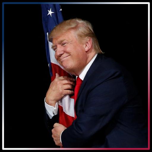 trump-hugs-flag